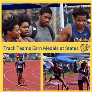 Smith, Barnes, Boys 400m Relay Star as Track Teams Earn Medals at States