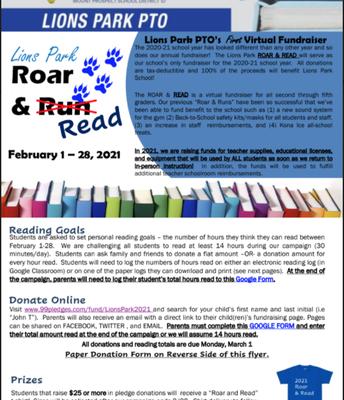 PTO ROAR & READ