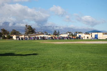 Gabilan Students participating in the Great ShakeOut