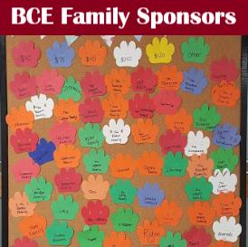 Become a BCE Family Sponsor!