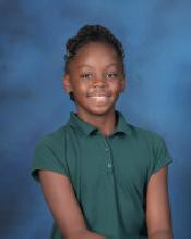 Anaysa Glover  6th Grade