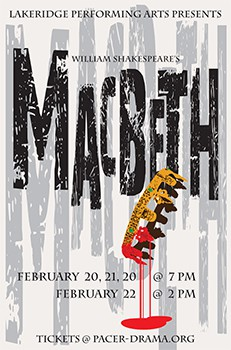 Lakeridge Performing Arts Presents Macbeth