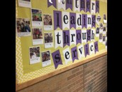 Leader in Me Service Bulletin Board