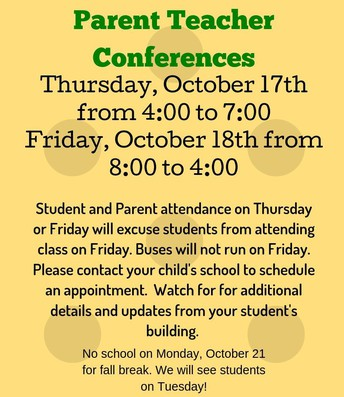 Parent Teacher Conferences: