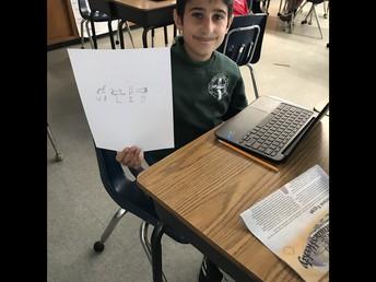 6th Grade Hieroglyphic Names!