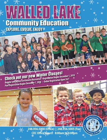 Winter Community Education Offerings at Dublin