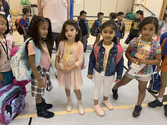 Davenport kindergarteners were nothing short of impressive with their confidence coming in