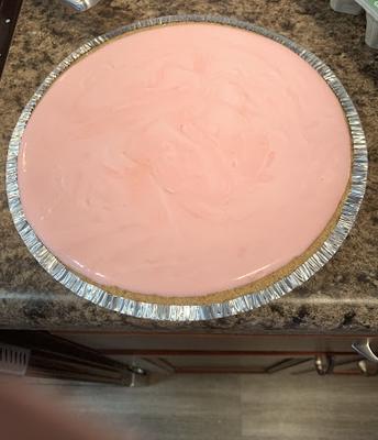 Ava's Pink Lemonade Koolaid Pie