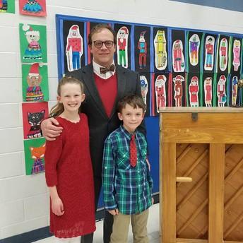 Mr. Peeler, Kate & Max