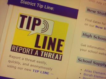New School Tip Line