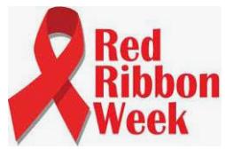 Red Ribbon Week Awareness & DRESS UP NEXT WEEK!