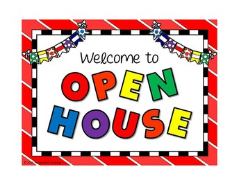Open House is August 13th from 5-7 pm.