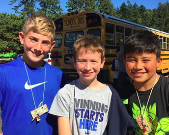 6th Graders Rock Outdoor School