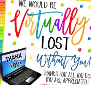 Staff Appreciation Week: May 4-8, 2020