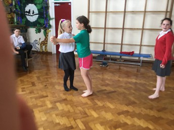 Year Five vintage dancing
