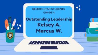4th Grade Remote Star Students