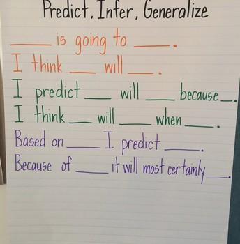 Predicting, Inferring & Generalizing