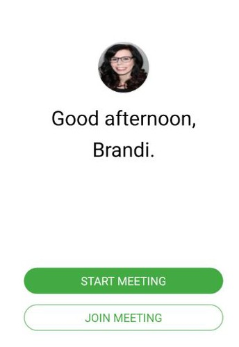 STEP 4: Start or Join your Meeting