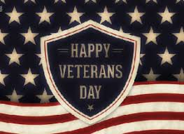 Mark Your Calendar for Veterans' Day