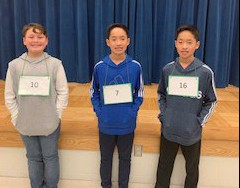 Congratulations to our Spelling Bee Champions!