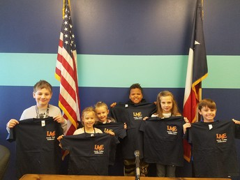 Positive Office Referral Shirt Winners
