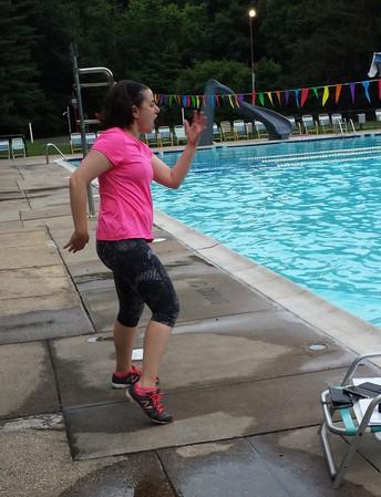 Water Aerobics a Hit