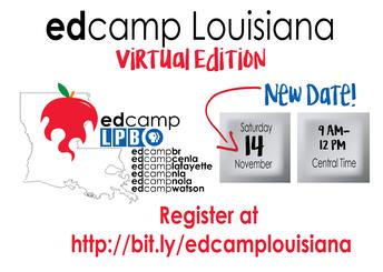 Virtual Edcamp Louisiana RESCHEDULED