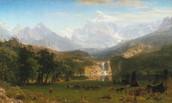 The Rocky Mountains by Albert Bierstadt