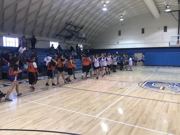CHS Unified Basketball Game