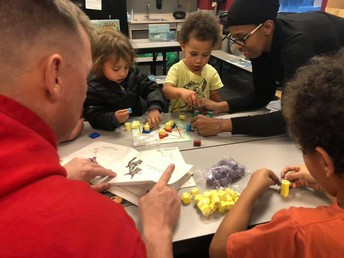 RES Hosts Families for Math Night