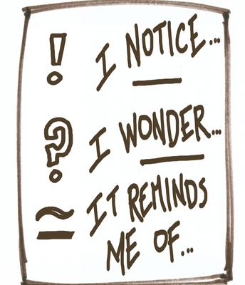 I Notice, I Wonder