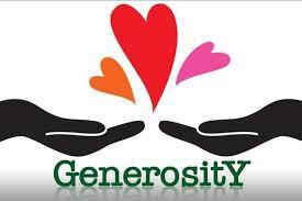 Generosity: WEEK 3
