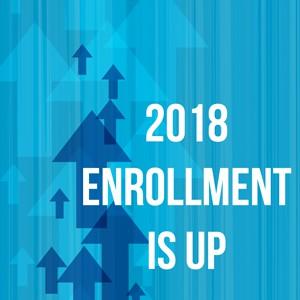 Enrollment is Up