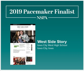 West Side Story Finalist for Pacemaker Award