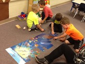 Synergizing with puzzles
