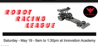 Robotics Workshop - May 19th