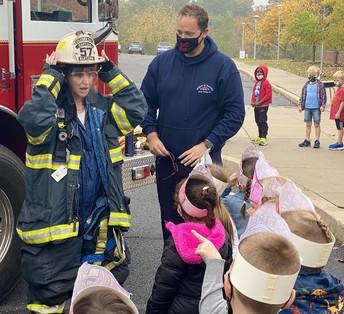 Milford Fire Co. visits Pfaff