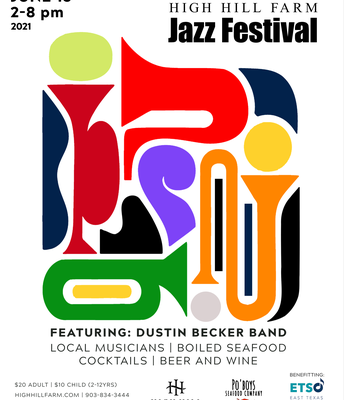 June 19 Jazz Festival at High Hill Farms