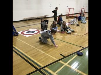4p having fun curling!