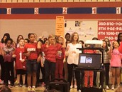 "CRES Honor Choir performs ""Forever Free""."