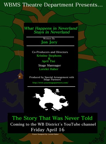 """WBMS presents """"WHAT HAPPENS IN NEVERLAND STAYS IN NEVERLAND"""" - April 16"""