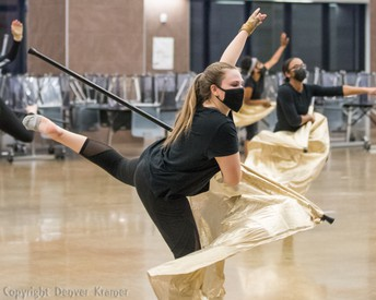 Braswell HS Winter Guard