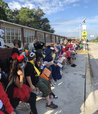 Last Week's Book Character Parade was a Huge Hit!