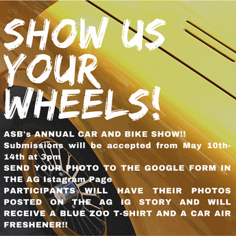 ASB is sponsoring the Annual Car and Bike Show!