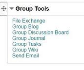 Blackboard Groups