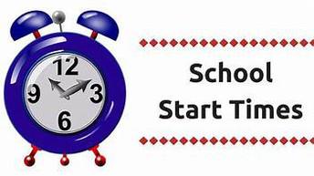 What time does school begin and end each day?  ¿A qué hora comienza y termina la escuela cada día?