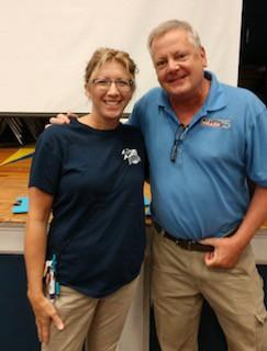 Mrs. McNew, resident meteorologist