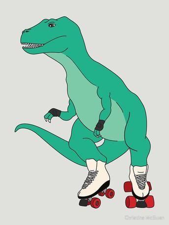 Dino Stomp Family Skate Night