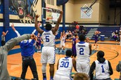 Buzzer Beater win against Hallsville