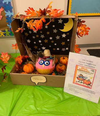 Literary Pumpkin Contest Owl Diaries